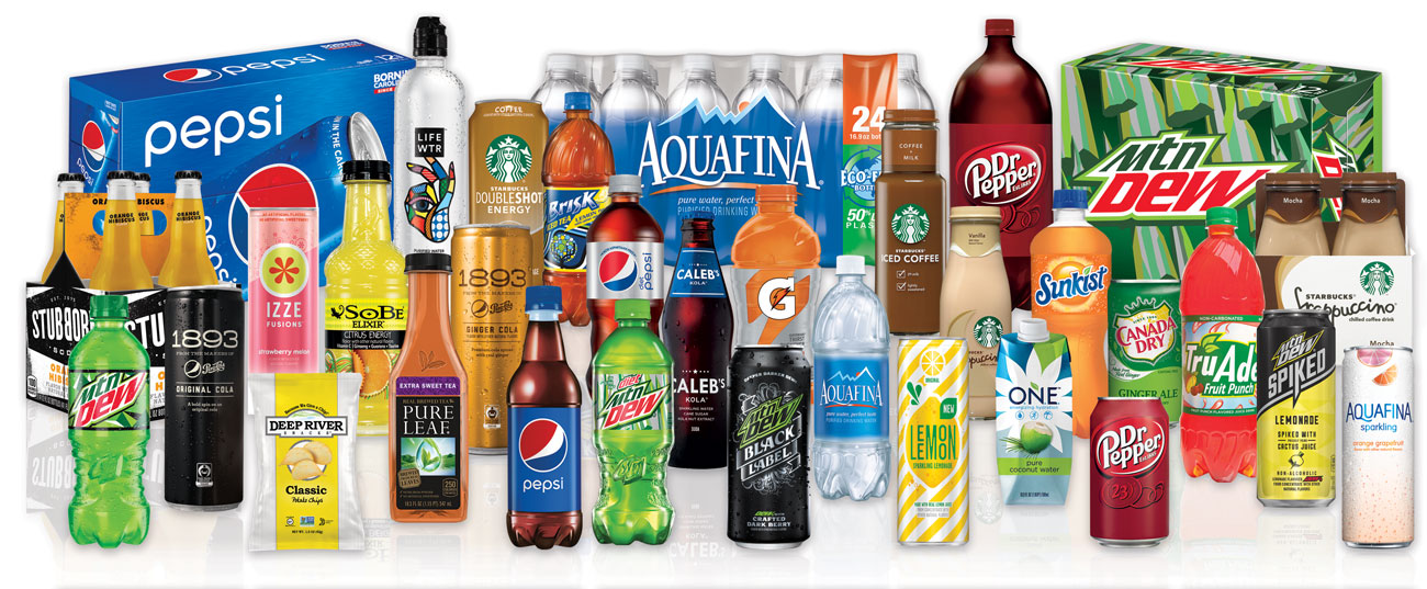Carbonated Beverages and Bottled Water