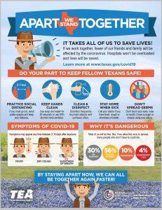 Texas Education Agency COVID-19 Hygiene Practices