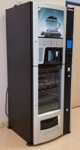 Saeco Diamante Coffee, Snack and Cold Drinks Vending Machine available at I Love Vending